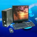 中古パソコン Windows7 DVDスーパーマルチ搭載DELL OptiPlex 780または380シリーズ 19インチワイド液晶モニター付き【中古】Windows7..