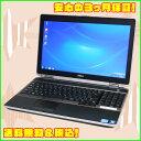 【中古ノートパソコン】DELL Latitude E6520Windows7Pro-32bitセット済15.6型HD+(解像度:1600×900)Corei5-2520M 2.5GHz メモリ4GB HDD250GB 無線LAN DVDマルチテンキー付きキーボードKingSoft Office付【中古】