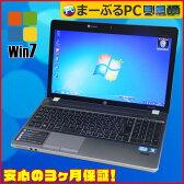 ★【中古パソコン】HP Compaq 4530S Celeron B840 1.9GHz搭載Windows7-32bitセット済みメモリ3GB HDD320GB DVDマルチ テンキー付キーボード KingSoft Office付【中古】★