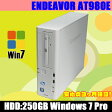 【新着商品】中古パソコンWindows7 32ビット版搭載 中古デスクトップパソコン EPSON ENDEAVOR AT980E CoreI5 3.2GHz メモリ:2GB HDD:250GB DVD-ROM KingSoft Office付き【中古】