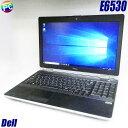 Dell Latitude E6530【中古】コアi7(2.90GHz) メモリ8GB 高速SSD256GB Windows10-HOME(MAR)搭載 テンキー付きキーボード 15.6インチ液晶 中古ノートパソコン WEBカメラ 無線LAN DVDスーパーマルチ内蔵 WPS Office付き 中古パソコン