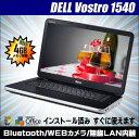 中古ノートーパソコン Windows7|DELL Vostro 1540|Celeron P4600 4GB/320GB/DVDスーパーマルチ|KingSoft...