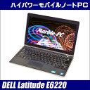 DELL Latitude E6220【中古】 12.5型ノートパソコン HDD250GB メモリ4GB コアi5搭載 Windows10-Proアップグレード済み HDMIポート 無線LAN内蔵 WPS Officeインストール済み 中古パソコン