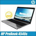 中古パソコン Windows10アップグレード済 安心3ヶ月保証付き HP ProBook 4540s【中古】 液晶:15.6インチ Celeron:1.90GHz メモリ2GB HDD250GB DVDスーパーマルチドライブ テンキー付きキーボード HDMIポート搭載 USB3.0対応 WPS Office付き 中古ノートパソコン【訳】