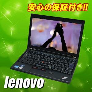 中古ノートパソコン lenovo ThinkPad X220 12.5インチ液晶(1366×768) Windows7搭載ノートPCCPU:Corei5-252...