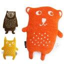 KLIPPAN クリッパン Cuddly puppet Little bear カドリーパペット 6000 リトルベア ぬいぐるみ オーガニックコットン シュニールコットン ギフト カラー3色