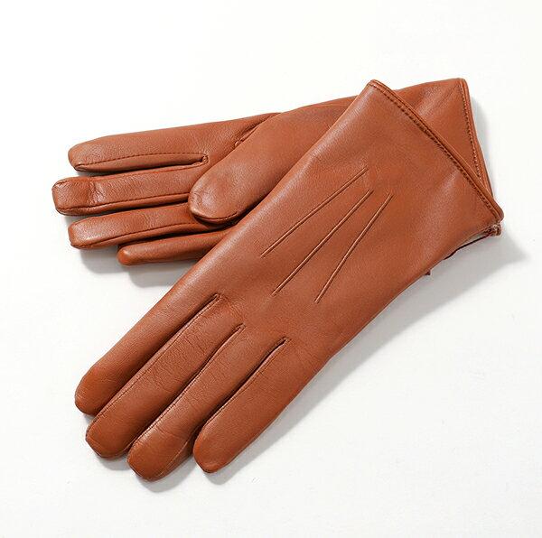 【期間限定プライス】// DENTS デンツ レディース 17-1061 Ripley コニーファーライニング レザー グローブ 手袋 手ぶくろ アームウェア カラーCOGNAC 32400++