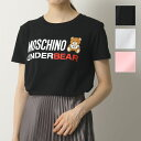 MOSCHINO UNDERWEAR モスキーノ アンダーウェア 1904 9003 カラー3色 半袖 Tシャツ カットソー ロゴT クルーネック レディース