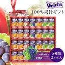 ウェルチ ジュースギフト 100% 果汁 (WS30) カルピス