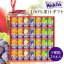 あす楽 ウェルチ ジュースギフト 100% 果汁 (WS30) カルピス