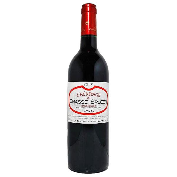 [2009] エリタージュ・ドシャススプリーン 750mlフランス シャトー・シャス・スプリーンボルドー ACオー・メドック ワイン 葡萄酒 wine
