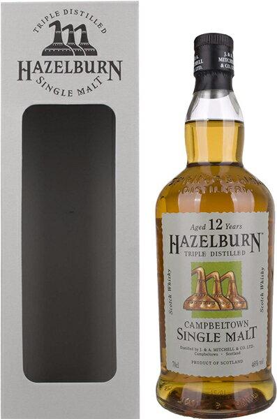 ヘーゼルバーン 12年 46% 700ml シェリーカスクイギリス・スコットランド スプリングバンク蒸留所 ウイスキー シングルモルト スコッチ longrow SPRINGBANK