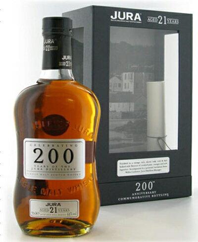 【送料無料】ジュラバイセンテナリー200周年記念ボトル21年熟成44% 700mlアイルオブジュラ16年40% 750ml 〔旧ボトル〕