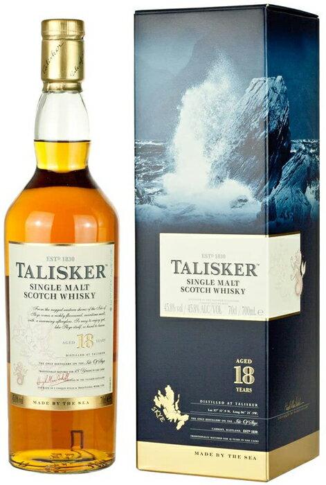 タリスカー 18年 45.8% 700mlイギリス・スコットランド タリスカー蒸留所 ウイスキー スコッチ シングルモルト TALISKER 18years