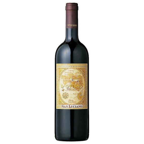 こみこみ6本で送料無料! [2007] ドヴィーディオ 14.48% 750ml トスカーナ I.G.T.イタリア サン・ルチアーノ赤ワイン