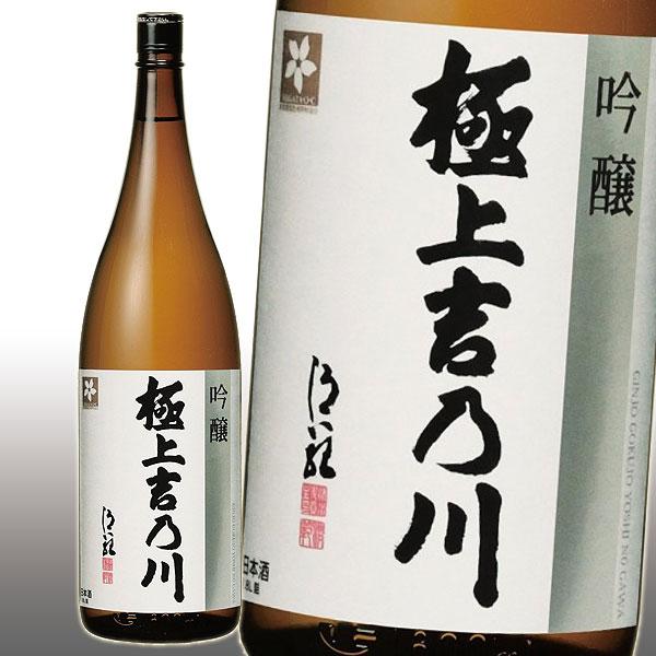 極上吉乃川 吟醸 1800ml 15%