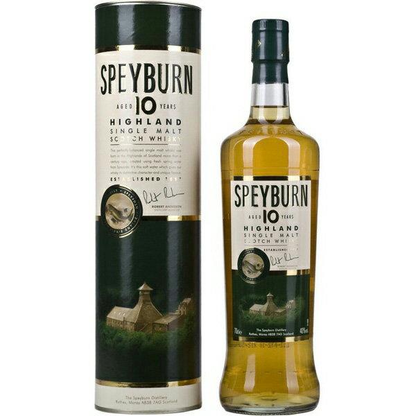 スペイバーン 10年 40% 700mlイギリス・スコットランド スペイバーン蒸留所 ウイスキー シングルモルト スコッチ SPEYBURN