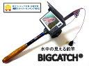 正規品 水中カメラ付き釣り竿 録画機能搭載ビッグキャッチ(釣...
