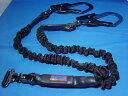 2丁掛け用 ランヤード KH  安全帯 ジャバラ 15-15 D環 タイプ