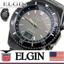 人気!おススメ!*送料無料*エルジン ELGIN ソーラー 電波 腕時計 FK1371B-BP ソーラー 電波受信 エルジン ソーラー 腕時計 メンズ 男性用 国内正規品