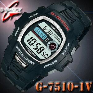 CASIO G-SHOCK G-7510-1V カシオ Gショック 腕時計 振動アラーム【バイブレーション機能】海外モデル【新品】『宅配便』で全国*送料無料*
