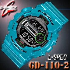 �ڤ������б��ۥ�����CASIOG����å�G-SHOCK�ӻ���GD-110-2��L-SPEC��L���ڥå���Blue�ġ۹��LED�Хå��饤�ȡڹ���������λ���顼GD-110-2JF��Ʊ���۳�����ǥ�ڳڥ���_�����ۡڿ��ʡ�