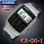 メール便配送180円OK♪在庫有り!即納可「宅配便」で【あす楽対応】CASIO カシオ CALCULATOR カリキュレーター 電卓付 腕時計 CA-56-1 海外モデル【メール便選択可】