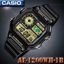 CASIO AE-1200WH-1B WORLD TIME STANDARD DIGITAL カシオ...