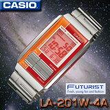 �߸�ͭ�ꡪ¨Ǽ�ġؤ椦�ѥå��٤����������̵�����ڤ������б��ۥ����� CASIO LA-201W-4A �ե塼����ꥹ�� FUTURIST �ӻ��� ������ǥ�ڿ��ʡ�