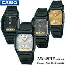 CASIO AW-48HE series  AW-48HE-1A  AW-48HE-7A  AW-48HE-8A  AW-48HE-9A カシオ Ana-Digi アナデジ Quartz 男女兼用 ユニセックスサイズ 腕時計 チプカシ海外モデル 新品一年保証