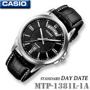 CASIO MTP-1381L-1A DAY-DATE ST...