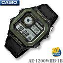 CASIO AE-1200WHB-1B WORLD TIME...