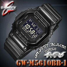 ������̵�������ӥ����߸�ͭ�ꡪ¨Ǽ�ġڤ������б���CASIO������G-SHOCKG����å�GW-M5610BB-1GrossyBlackSeries����å������֥�å����꡼����THEG�����ȥ����顼�ӻ��סڹ���GW-M5610BB-1JF��Ʊ���۳�����ǥ�ڿ��ʡ�