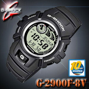CASIO G-SHOCK G-2900F-8V カシオ Gショック デジタル 腕時計 e-DATA MEMORY【電池寿命 10年】ダークグレー 海外モデル【新品】『宅配便』で全国*送料無料*