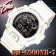 *送料無料サービス*在庫有り!即納可【あす楽対応】CASIO カシオ G-SHOCK Gショック 腕時計 DW-6900NB-7 ホワイト 白【国内 DW-6900NB-7JF と同型】海外モデル【新品】