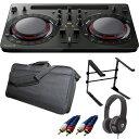 【14大特典付】 Pioneer DJ / DDJ-WeGO4-K (ブラック) 【rekordbox dj / Virtual DJ LE無償 】 激安定番モバイルCセット