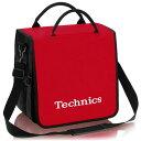 Technics(テクニクス) / BackBag (Red) レコード約60枚収納可 レコードバッグ