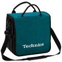 Technics BackBag (Turquoise/White) 【レコード約60枚収納可】 レコードバッグ テクニクス