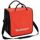 Technics(テクニクス) / BackBag (Orange/White) 【レコード約60枚収納可】 - レコードバッグ -