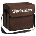Technics(テクニクス) / DJ Bag (Brown) 【約60枚レコード収納】 - DJバッグ -