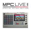 【数量限定】Akai(アカイ) / MPC LIVE2 Retro Edition (MPC Live II Retro) スタンドアローン型MPC 【2021年春発売予定】