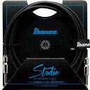 Ibanez(アイバニーズ) / HF (Hundred Fifty) Studio Cable 【HF10】(3.05m/SS) - ハイエンド ギターケーブル - シールド