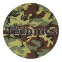 Technics Slipmats (Camouflage) スリップマット (2枚/1ペア) テクニクス