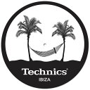 Technics(テクニクス) / Slipmats (IBIZA) - スリップマット (2枚/1ペア) -