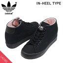 adidas アディダス COURT VANTAGE HEEL レディース スニーカー [BLACK] コートバンテージ インヒール シークレットシューズ ブラック 黒 女性用 靴 送料無料 DB1277 楽天 通販 【RCP】