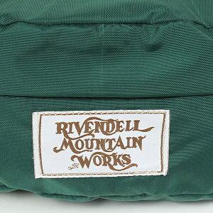 RivendellMountainWorksリーベンデールマウンテンワークスSmallHipHuggerウエストバッグ[GREEN]アウトドア登山旅行トラベルMADEINUSAアメリカ製【RCP】
