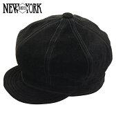 NEW YORK HAT ニューヨークハット Suede Spitfire スエードキャスケット [BLACK] ブラック メンズ レディース スウェード アメリカ製 帽子 本革 男性 女性 黒 カジュアル #9260 送料無料 メール便 楽天 通販 【RCP】