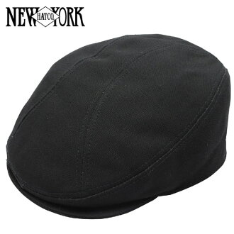 NEW YORK HAT Canvas 1900 (New York Hat campus cotton hunting Cap with black mens ladies Hat #6230)