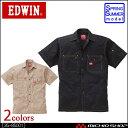 作業服 EDWIN エドウイン 半袖シャツ 35-85001 春夏作業着大きいサイズ4L・5L