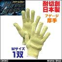 作業手袋 軍手 福徳産業ハイパーレスキューアラミド7ゲージ厚手軍手 202 Mサイズ